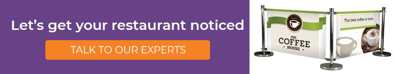 Let's get your restaurant noticed