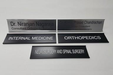 Name Tags, Desk Plates & Uniforms