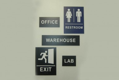 Wayfinding & Safety Signs
