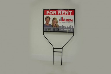 Real Estate Metal Frames