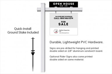 Real Estate Portable Signposts