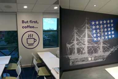 Wall Wraps & Decals
