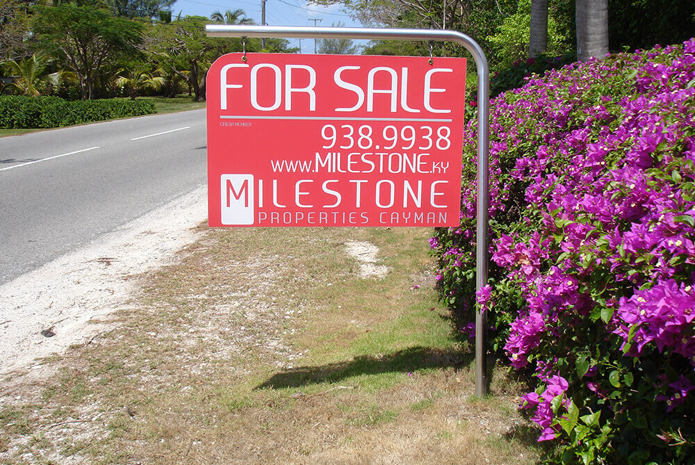 Real Estate Signs Cayman