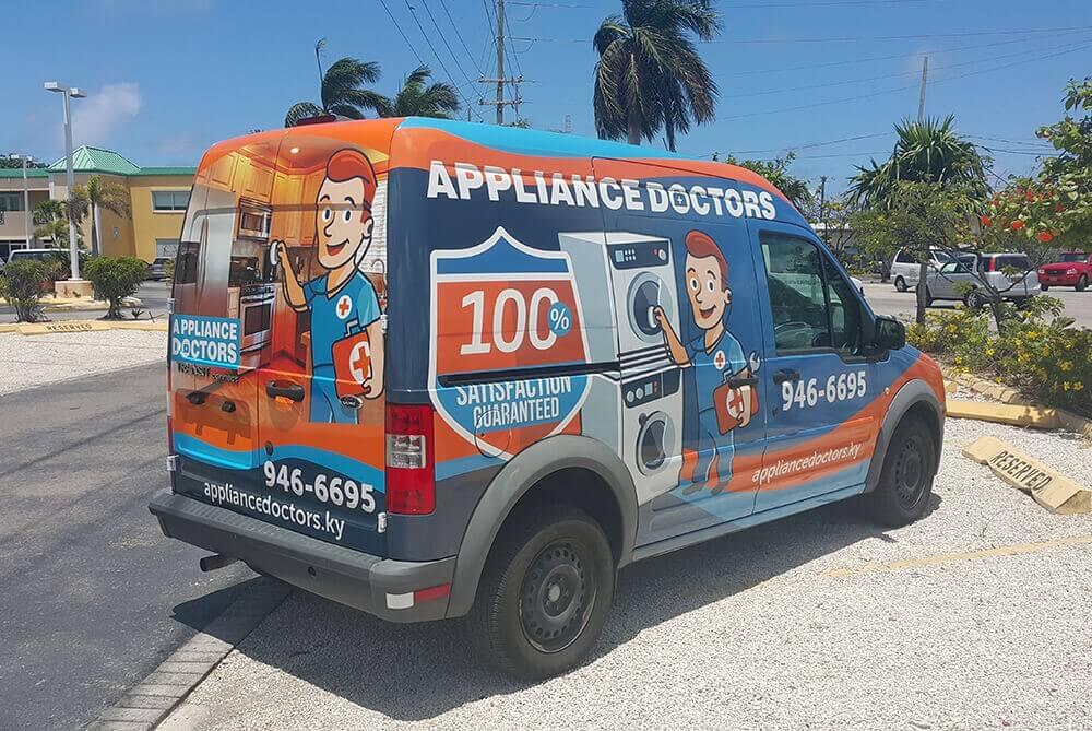 Vehicle wraps & graphics in Cayman Islands