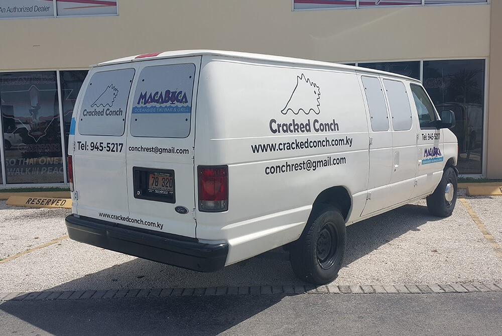 Vehicle Lettering And Graphics In Cayman Islands