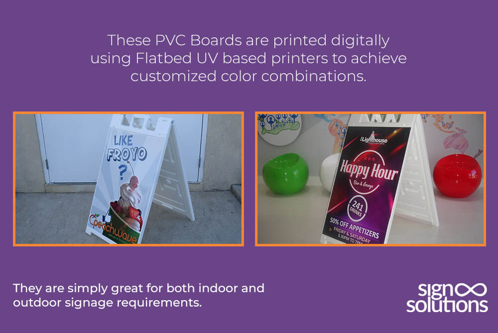 PVC Boards Signs in Cayman