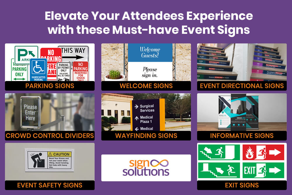 8 Essential Event Signs to Enhance Attendees Experience in Cayman